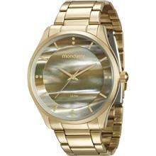 Relógio Mondaine Feminino Dourado 99089LPMVDE2