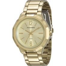 Relógio Mondaine Feminino Dourado 99094LPMVDE1