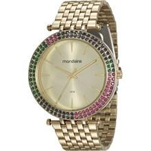 Relógio Mondaine Feminino Dourado 99095LPMVDE1