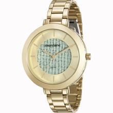 Relógio Mondaine Feminino Dourado Azul 99172LPMVDE2