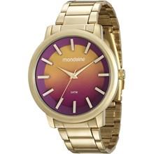 Relógio Mondaine Feminino Dourado Colorido 53533LPMVDE1