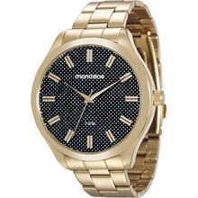 Relógio Mondaine Feminino Dourado Colorido 76614LPMVDE1