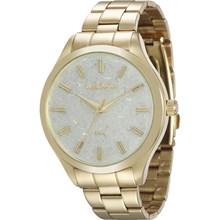 Relógio Mondaine Feminino Dourado Colorido 76614LPMVDE2