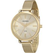 Relógio Mondaine Feminino Dourado Esteira 76616LPMVDE2