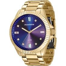 Relógio Mondaine Feminino Dourado Lilás 76613LPMVDE3