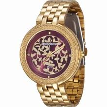 Relógio Mondaine Feminino Dourado Lilás 94685LPMVDE2
