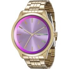 Relógio Mondaine Feminino Dourado Lilás 94868LPMVDE6