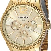 Relógio Mondaine Feminino Dourado Multifunção 60449LPMGDS1