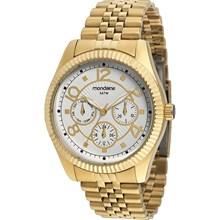 Relógio Mondaine Feminino Dourado Multifunção 83176LPMGDS1
