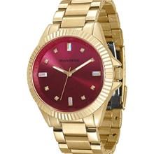 Relógio Mondaine Feminino Dourado Rosa 76474LPMVDE6