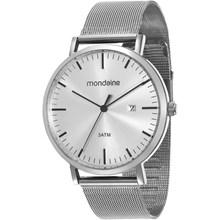 Relógio Mondaine Feminino Esteira Prata 53574G0MVNA1