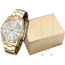 Relógio Mondaine Feminino Kit Pérola 94912LPMKDE1KA