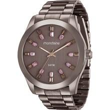 Relógio Mondaine Feminino Marrom Rosa 78663LPMVMA6