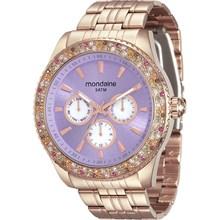 Relógio Mondaine Feminino Multifunção Rose 78731LPMVRA3