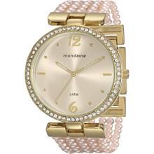Relógio Mondaine Feminino Pérola Rosa 76503LPMVDM2