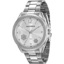 Relógio Mondaine Feminino Prata 53537L0MVNE2