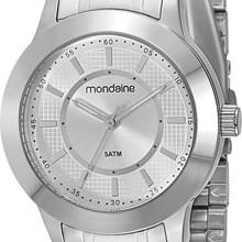 Relógio Mondaine Feminino Prata 78453L0MBNA2