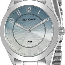 Relógio Mondaine Feminino Prata 78690L0MVNA2