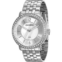 Relógio Mondaine Feminino Prata 94808L0MVNE5