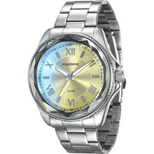 Relógio Mondaine Feminino Prata 94869L0MVNE2