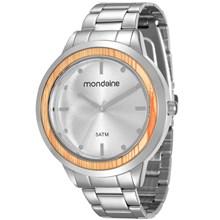 Relógio Mondaine Feminino Prata 99055L0MVNE2