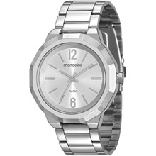 Relógio Mondaine Feminino Prata 99094L0MVNE2