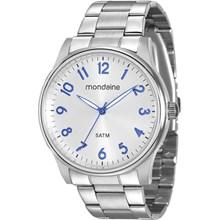 Relógio Mondaine Feminino Prata Azul 78712L0MVNA2