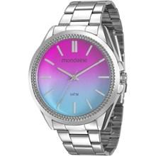Relógio Mondaine Feminino Prata Colorido 53532L0MVNE4