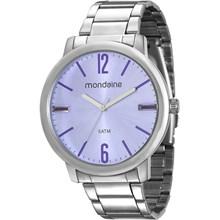 Relógio Mondaine Feminino Prata Lilás 53535L0MVNE3