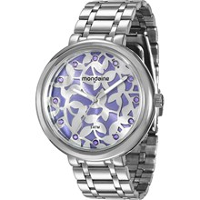 Relógio Mondaine Feminino Prata Lilás 76434L0MVNE2