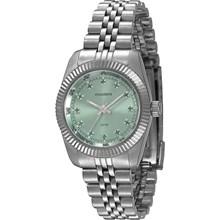 Relógio Mondaine Feminino Prata Verde 99062L0MVNS8