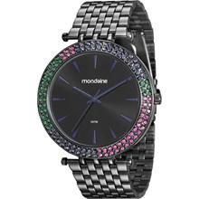 Relógio Mondaine Feminino Preto 99095LPMVPE2