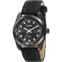 Relógio Mondaine Feminino Preto Camurça 99062LPMVSH1
