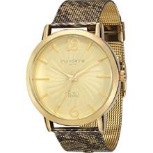 Relógio Mondaine Ivete Sangalo Safari Feminino Dourado 76332LPMFDE2
