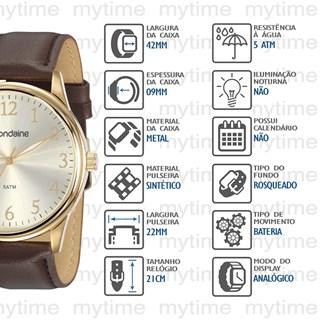 Relógio Mondaine Masculino 83470GPMVDH1