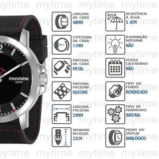 Relógio Mondaine Masculino 99392G0MVNI1