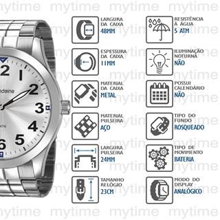 Relógio Mondaine Masculino 99407G0MVNE2