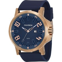 Relógio Mondaine Masculino Azul Rose 99233GPMVRI5