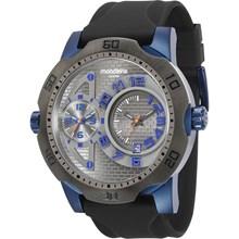 Relógio Mondaine Masculino Cinza Azul 94850GPMVQU4