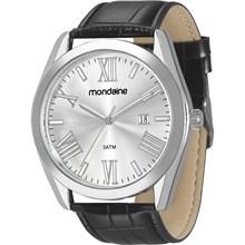 Relógio Mondaine Masculino Couro Preto 83288G0MVNH1
