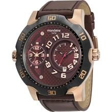 Relógio Mondaine Masculino Couro Rose 94850GPMVIC5