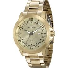 Relógio Mondaine Masculino Dourado 94901GPMVDE2