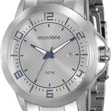 Relógio Mondaine Masculino Prata Cinza 94901G0MVNE1