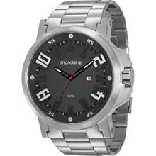 Relógio Mondaine Masculino Prata Preto 99233G0MVNS3