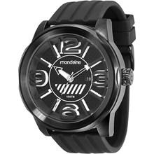 Relógio Mondaine Masculino Preto Branco 78604GPMVPU1