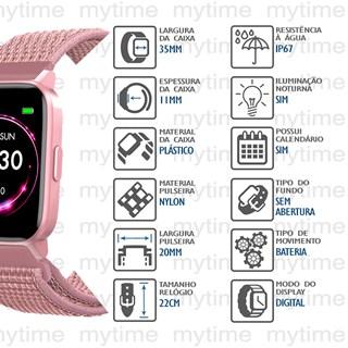 Relógio Mondaine Smartwatch Connect 16001M0MVNG4