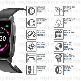 Relógio Mondaine Smartwatch Connect 16001M0MVNV2