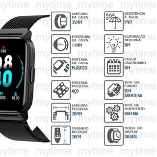 Relógio Mondaine Smartwatch Connect 16001M0MVNY1