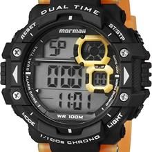 Relógio Mormaii Color Change Masculino Laranja Amarelo MO13609CC/8Y