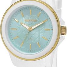 Relógio Mormaii Feminino Branco Azul MO2035CS/8A